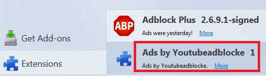 ads by youtubeadblocke firefox