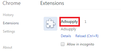 adsupply chrome