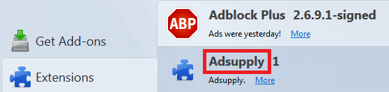 Remove Adsupply