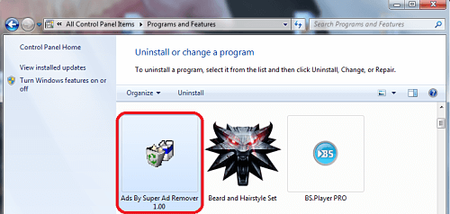 "Remove ""Ads By Super Ad Remover"" From Chrome/Firefox"