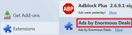 Remove Ads by Enormous Deals