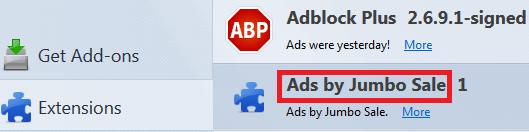 ads by jumbo sale