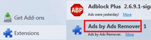 ads remover fire