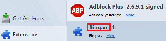 Remove Bing.vc Homepage From Chrome/Firefox