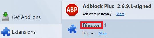 bing virus firefox