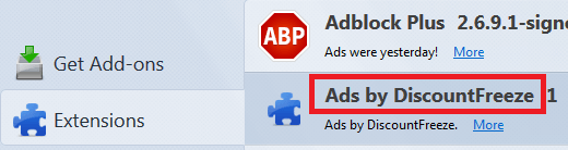 Get Rid of Ads by DiscountFreeze