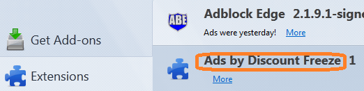 Get Rid Of Ads by Discount Freeze