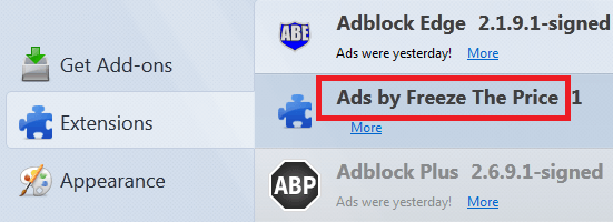 Get Rid Of Ads by Freeze The Price