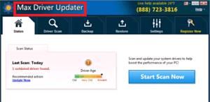 Remove Max Driver Updater