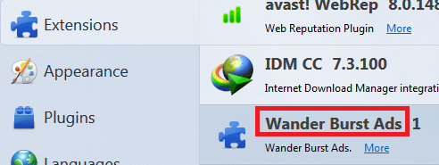 wander fire