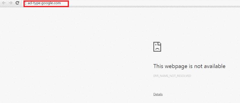 Remove ad-type.google.com
