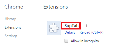Remove SupTab Virus (MiuiTab) From Chrome