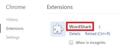 Remove WordShark Virus From Chrome
