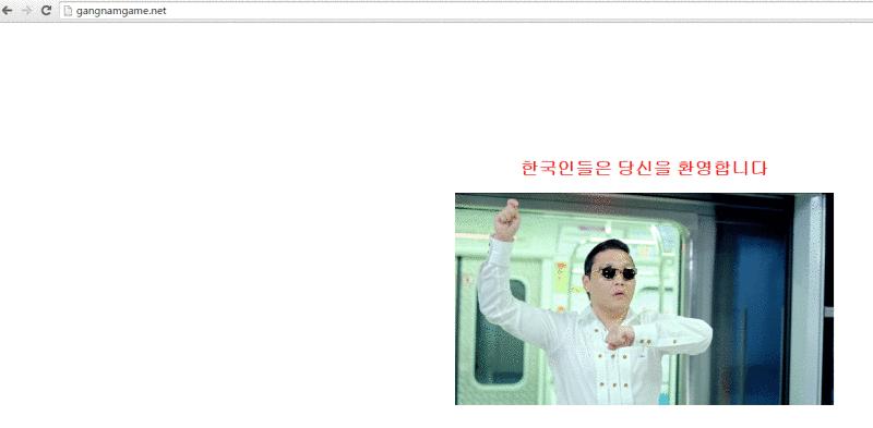 Remove Gangnamgame.net Virus