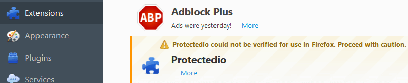 Remove Protectedio Search Virus From Firefox