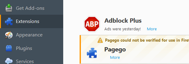 Pagego.ru Virus in Firefox