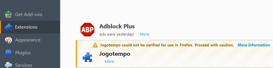 Remove Jogotempo Virus From Firefox