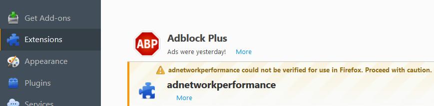 Remove Ad Network Performance Virus (Malware)