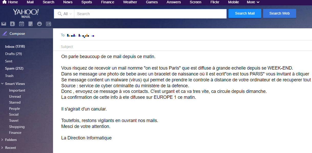 Delete Europe 1 virus