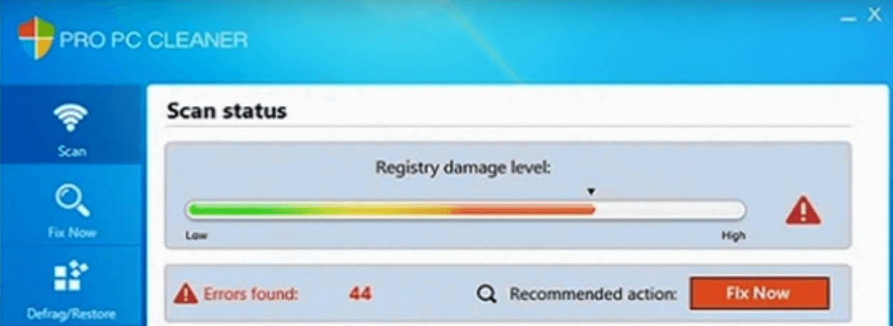 Pro PC Cleaner Virus Removal