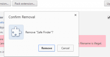 How to Remove Safe Finder