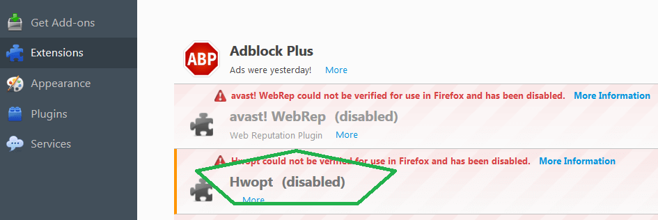 Hwopt Virus Removal