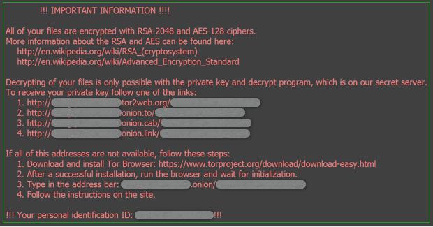 Locky Virus Trojaner – Entfernen und Entschlüsseln