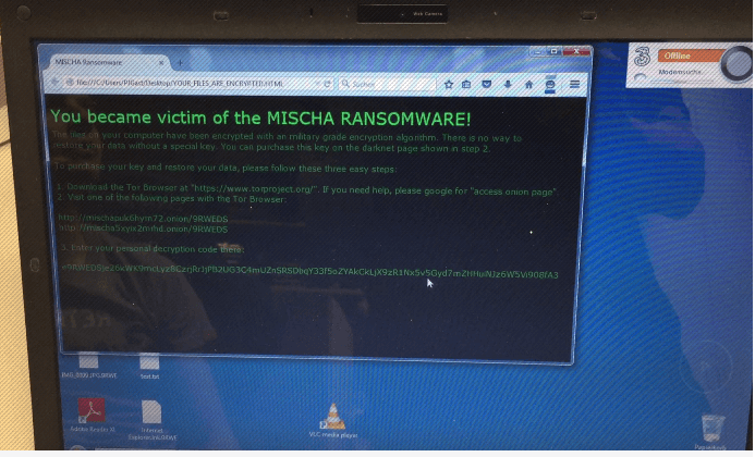 New Mischa Ransomware encrypts Austrian and Switzerland organizations!