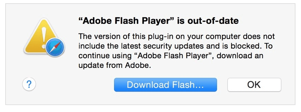 Apple blocks old Flash Player versions in Safari!