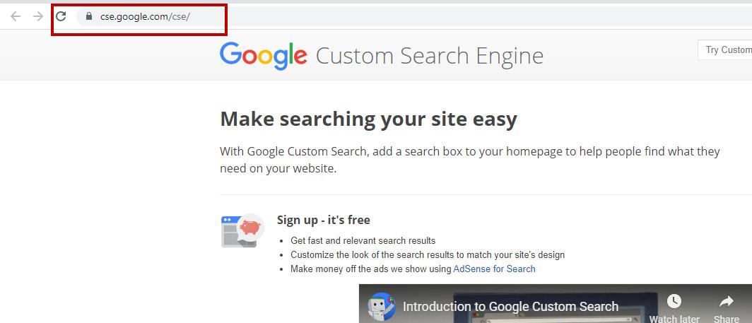 Remove Cse.google.com