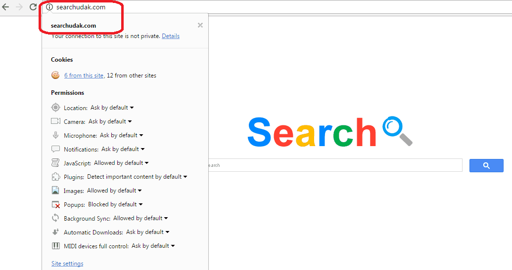 "The searchdudak.com ""Virus"" in Google Chrome"
