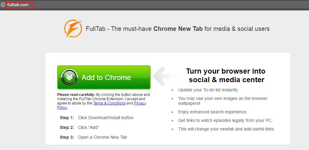 """Fulltab.com """"Virus"""""""