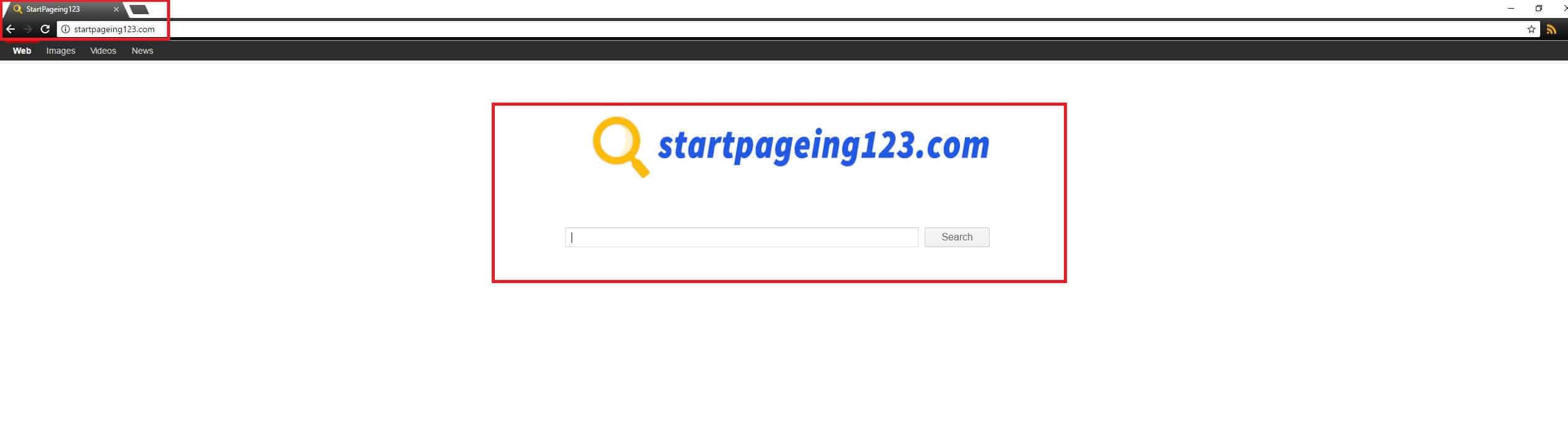 Startpageing 123 Browser Redirect