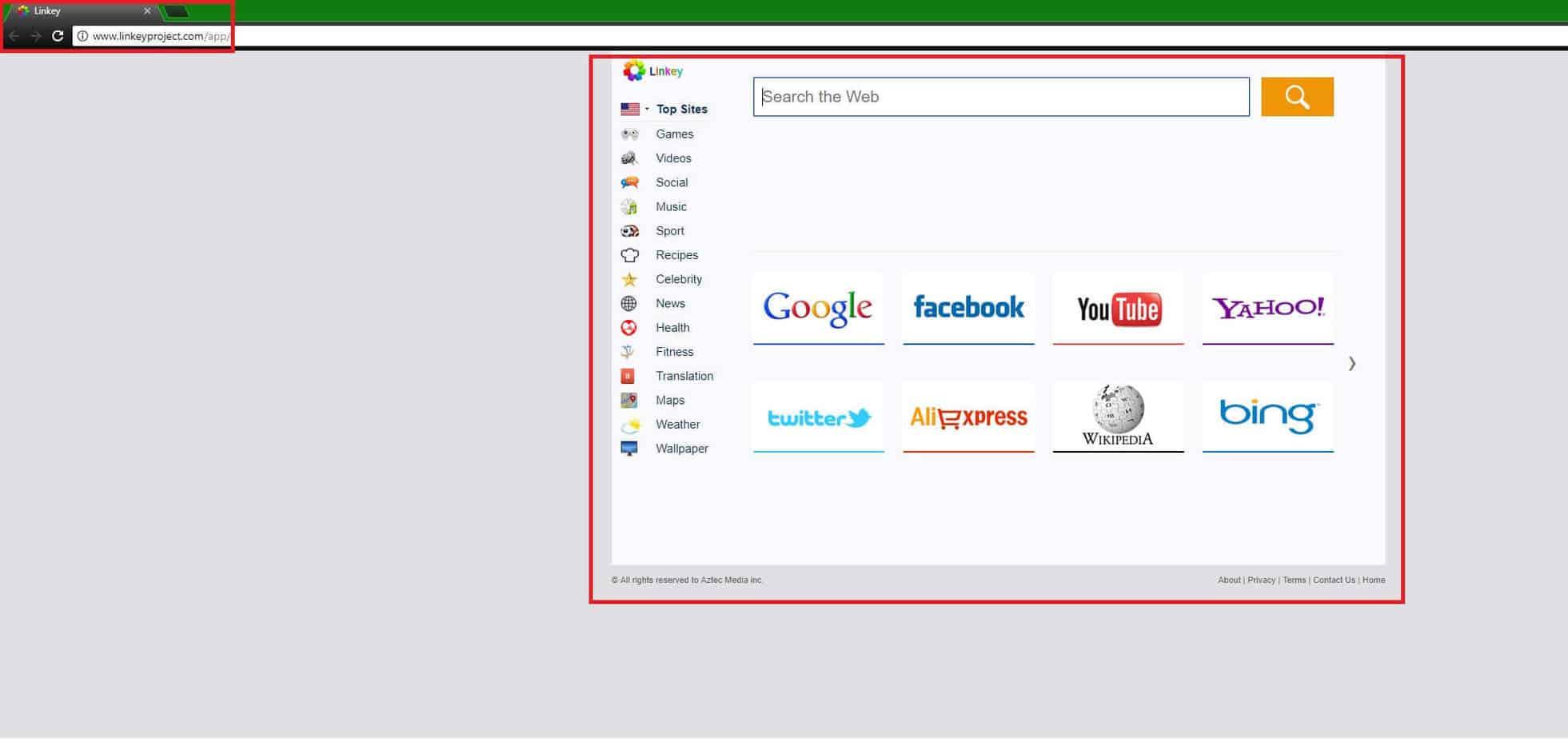 """Remove Linkey """"Virus"""" from Mac"""