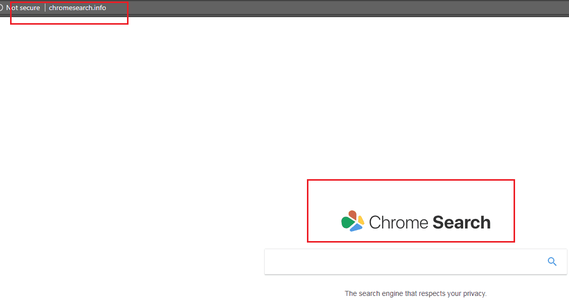 Chromesearch.info Virus