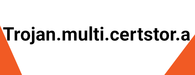 Trojan.multi.certstor.a
