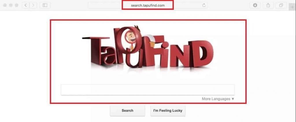 Delete Tapufind Virus