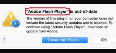 Adobe Flash Player Virus