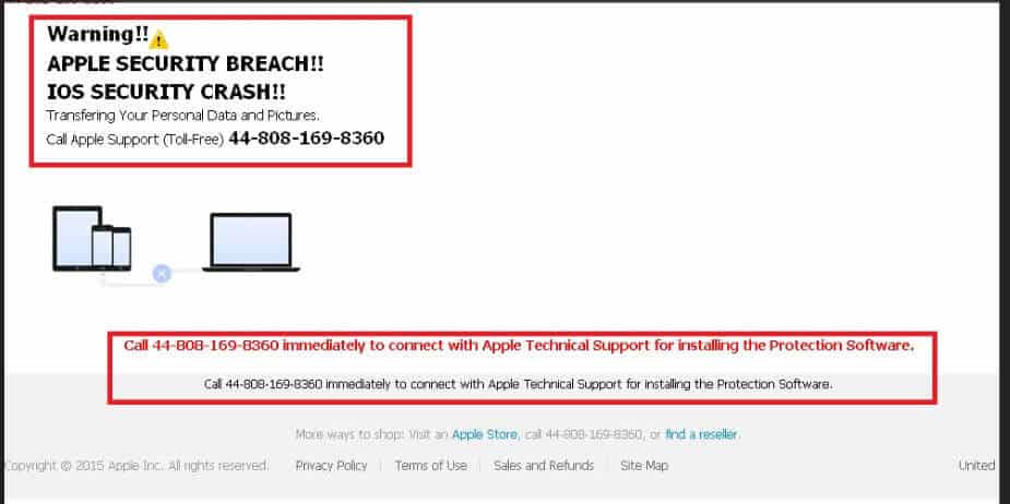 Apple iCloud Security Breach Scam Removal (March 2019 Update