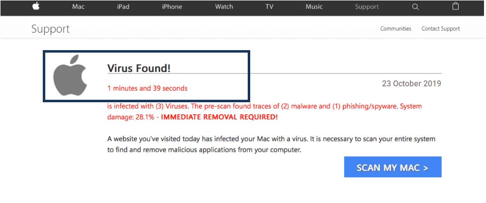 Virus Found Apple