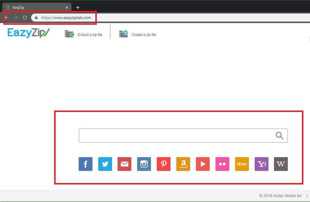 "Remove EasyZip Tab ""Malware"" (Chrome/Firefox/IE) Oct. 2018 Update"