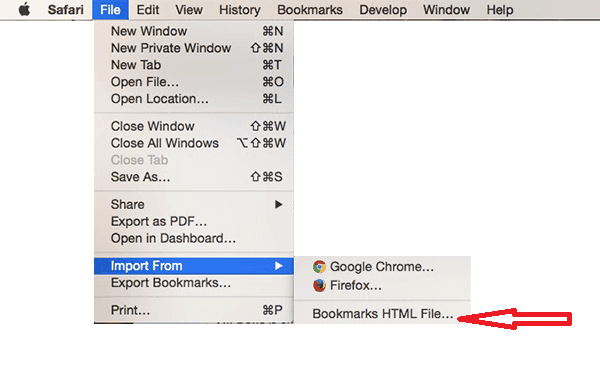 How to Import Chrome Bookmarks to Safari (Sept  2019 Update