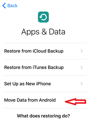 How to Transfer Data – Android to iPhone and iPad