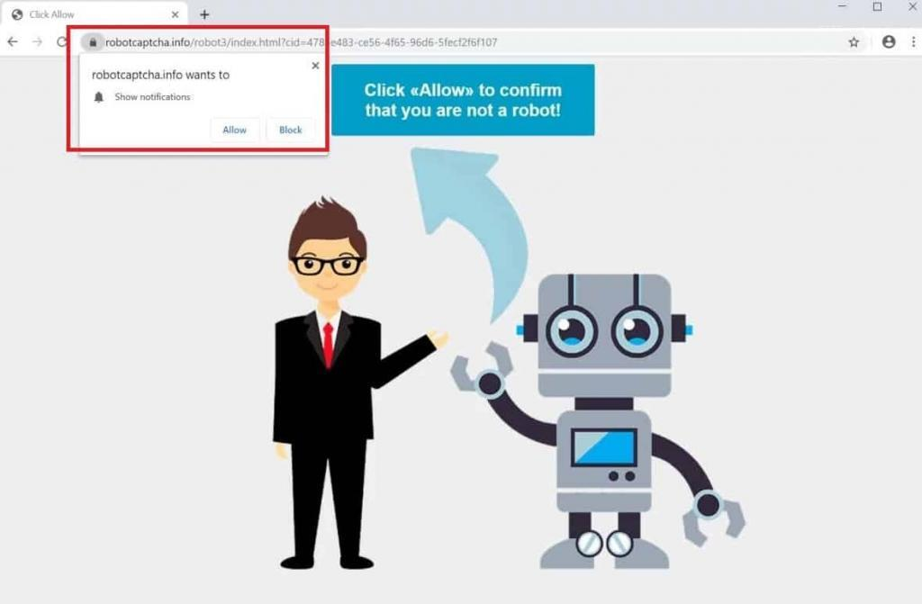 RobotCaptcha.info Removal guide