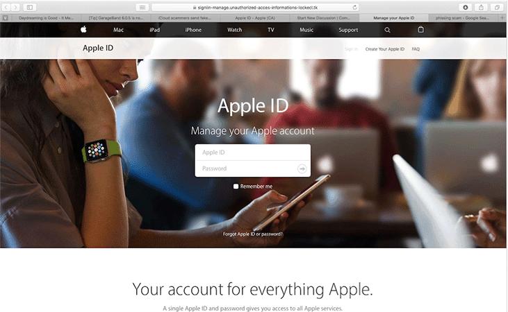Remove Iforgot.apple.com Email Scam (Mac Guide) July 2019 Update