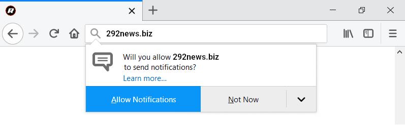 "Instructions for 292news.biz ""Virus"" removal"