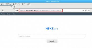 Go.next-search.net removal mac