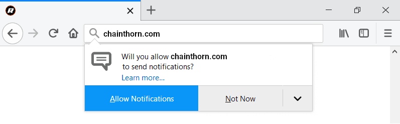 "How to remove Chainthorn.com ""Virus"""