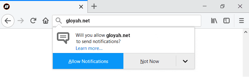 Removal guide for gloyah.net