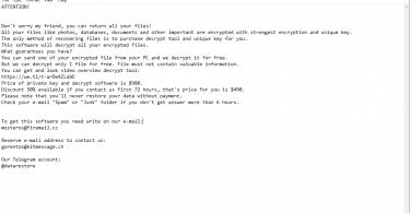 Remove Gusau Virus Ransomware (+ .Gusau File Recovery)